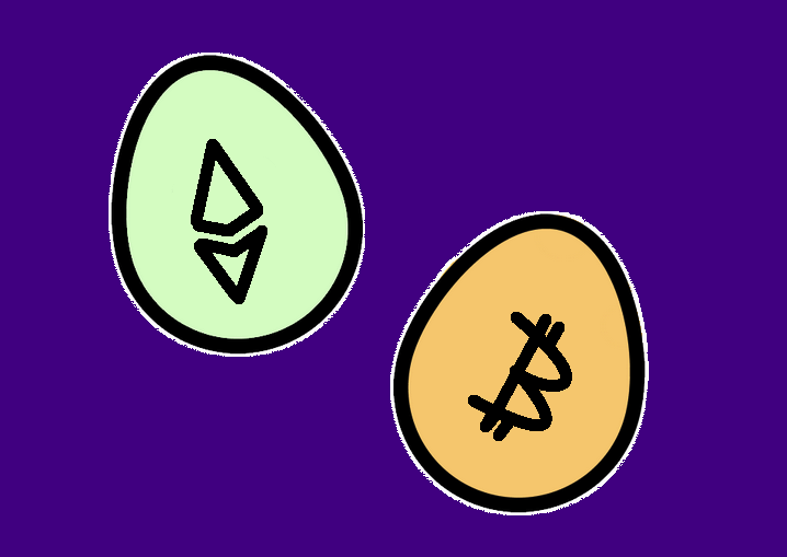 Bitcoin and Ethereum, are they really brothers?